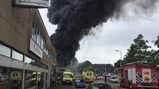 Brand in Ommoord