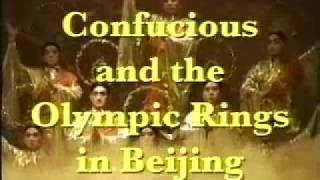 2008 Confucious and The Olympic Rings in Bejing