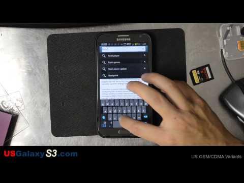 Samsung Galaxy Note 2 - Install Adobe Flash Player