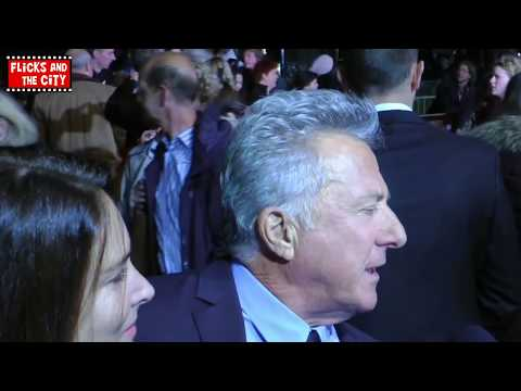 Dustin Hoffman Interview comparing first-time movie directing with acting