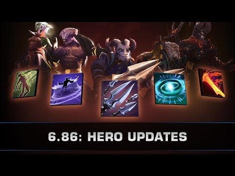 Dota 2 6.86: Hero Updates (DP, Riki, Void, LD, Doom)