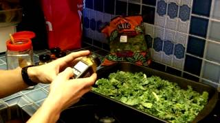 How To Make Kale Chips - The Healthiest Snack Recipe