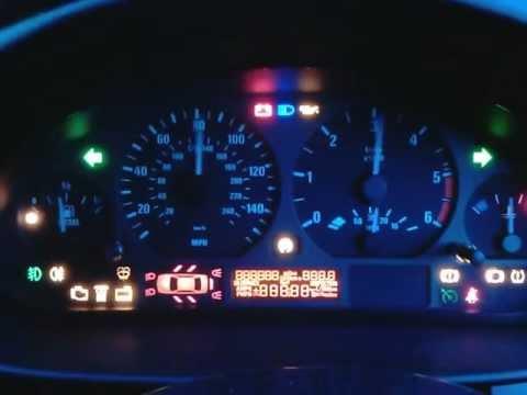 BMW 3 Series (E46) 2004 Instrument Cluster Test