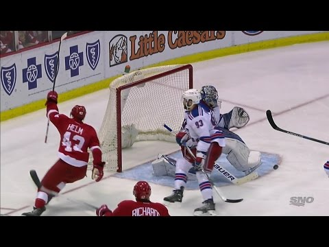15/16 RS: NYR @ Det Highlights - 3/12/16