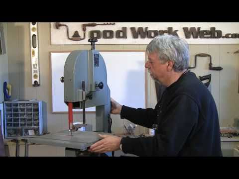 Woodworking -  Band Saw Setup and Tuneup