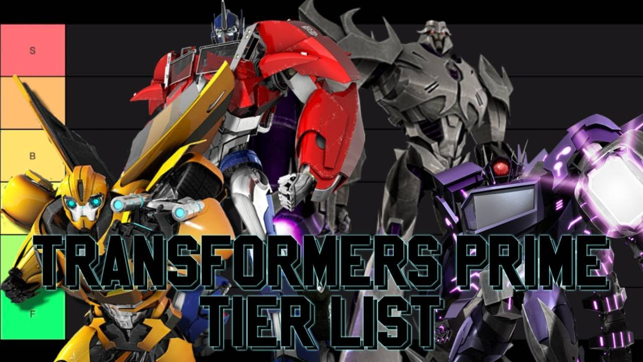 Transformers Prime Main Characters Tier List