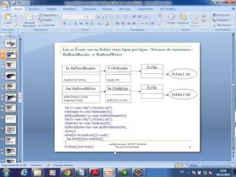 Entrees Sorties  dans Java Master SID 06 12 2013