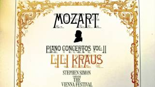 Download Lagu Mozart - Piano Concertos No.11,12,13,14,17,18,19 (recording of the Century : Lili Kraus/Simon) Gratis STAFABAND