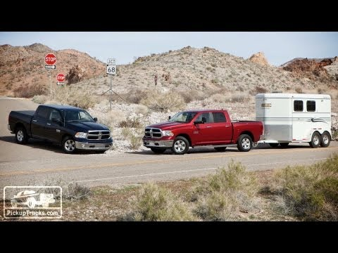 Road Test Review - 2013 Ram 1500 V-6