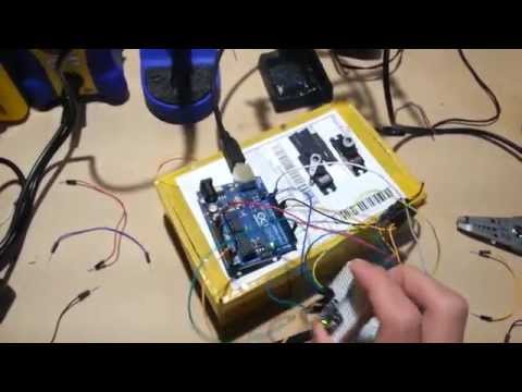 Arduino rocket guidance proof of concept V0.1 (box version)