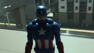 The adventure of iron man and captain america