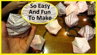 How To Make Origami Lanterns