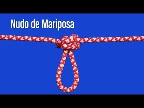 NUDO DE MARIPOSA, NUDOS DE ESCALADA
