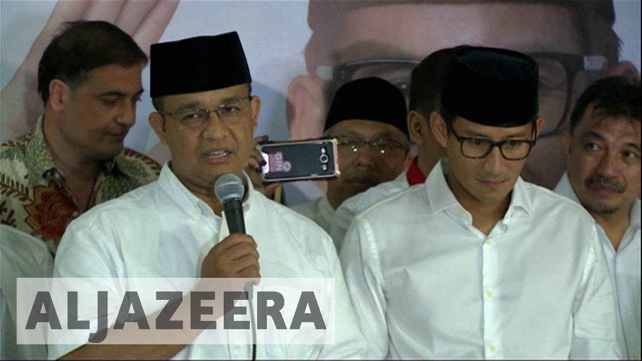 Indonesia: Anies Baswedan claims victory in Jakarta election