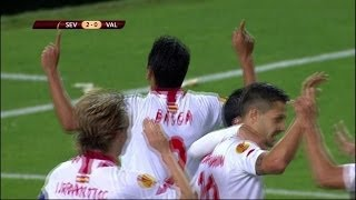 Sevilla vs Valencia 2-0 | 13/14 | [Cropped]