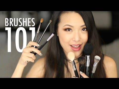 MAKEUP BRUSHES 101: What You Need & How To Use Them