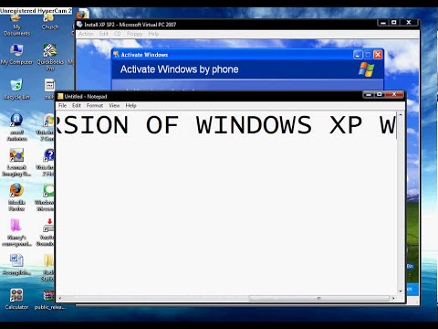 How to Legally Activate Windows XP Service Pack 2 (SP2)