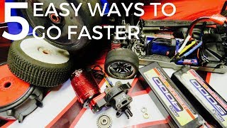 5 Easy Ways To Make An RC Car Faster