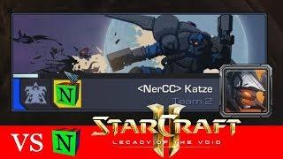 VS Katze - Starcraft 2: Viewer VS Nergorix [Deutsch | German]