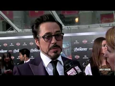 Marvel's The Avengers World Premiere - Robert Downey Jr.
