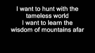 Watch Nightwish Sacrament Of Wilderness video
