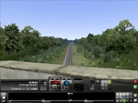 Train Simulator 2012 Experimental Hitachi Train Crash