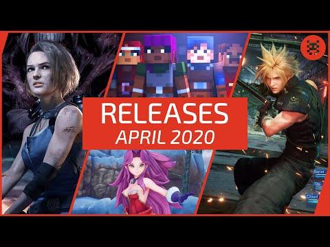 🆕 Neue SPIELE im APRIL 2020 für PS4, Xbox One, Nintendo & PC | Frisch aufgetischt