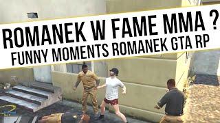 ROMANEK GTA RP   ROMANEK W FAME MMA ?  [ PSYCHOLOG   WUJEK ]   Funny Moments