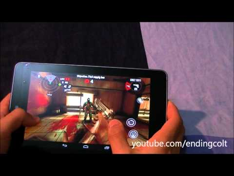 Google Nexus 7 - Gaming Test [Dead Trigger]