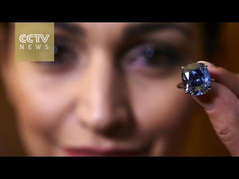 'Blue Moon Diamond' sells for record $48.4 million
