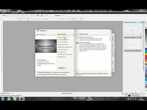 COREL DRAW X5 - Tutorial basico herramientas basicas y de uso sencillo