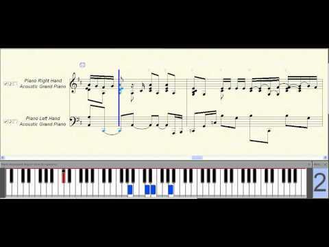 Mikazuki (Ayaka) ~ Music Piano Sheet