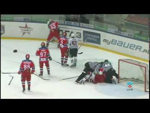 Драка ЦСКА vs Авангард Fights CSKA vs Avangard Brawl