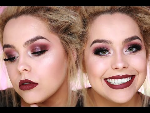 Makeup for maroon