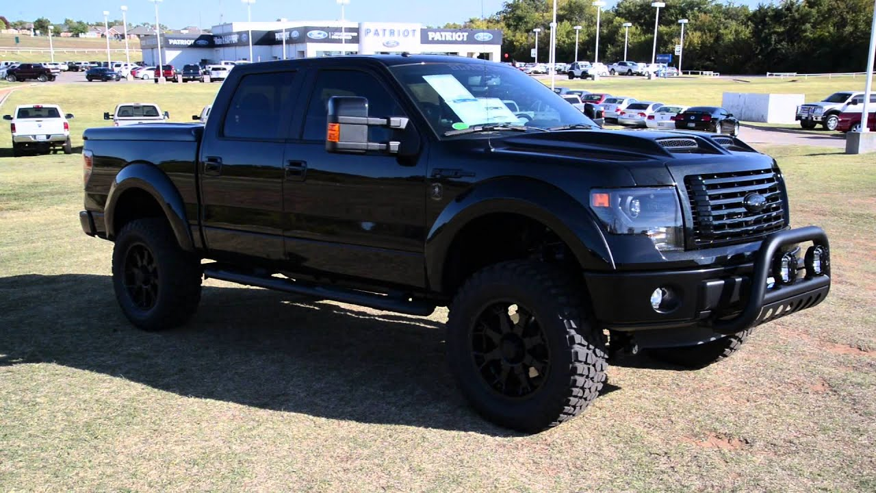 PatriotFord presents- 2013 Ford Tuscany BlackOps F-150 in Purcell, OK