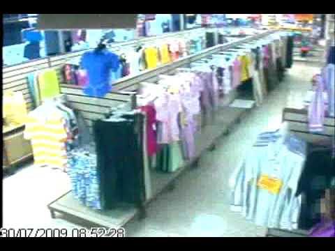 Camaras de Seguridad Cali - Robo en Supermercado. cámaras ocultas, ip