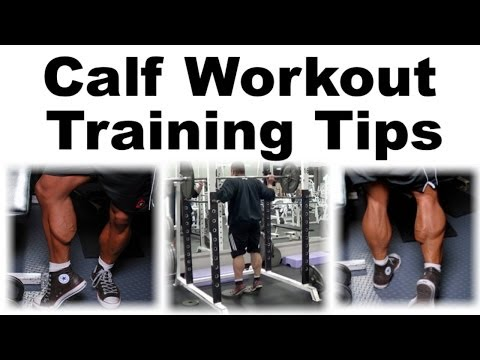 Standing Barbell Calf Raises + Calf Workout Tips Image 1