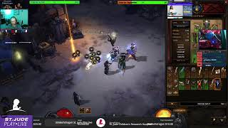 @DiabloIII @St.JudePlayLiveEvent. 4/15 subs 1k followers Goal Join us and lets Play. Wow, Elite Dang