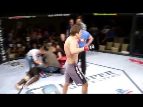 MMA reporter knocks opponent out