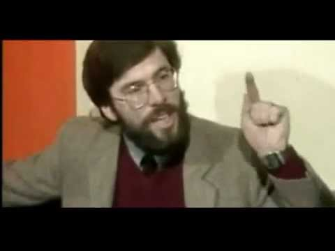 Gerry Adams proposing Peace and Dialogue [1982]