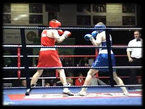 Joe Ward Irish boxer on 2012 London Olympics & Irish Amateur Boxing Finals