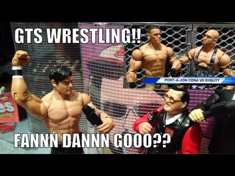 GTS WRESTLING: Revenge of REMATCHAMANIA! Wrestling action figure matches WWE PARODY animation