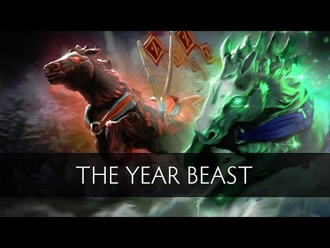 Dota 2 The Year Beast (Gameplay)