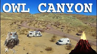 Owl Canyon ~ Green Volcanic Campground