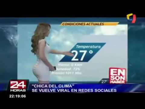 Sexy chica del clima thumbnail