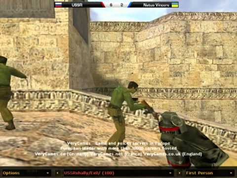 Na`Vi vs. USSR de_dust2