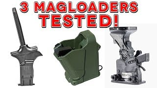 BEST 3 MAG LOADERS TESTED!