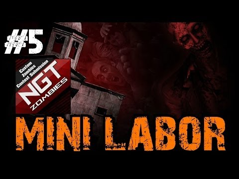 Custom Zombies - Mini-Labor | OMG Another EPIC Troll by an Evil Teddybear! (Part 5)