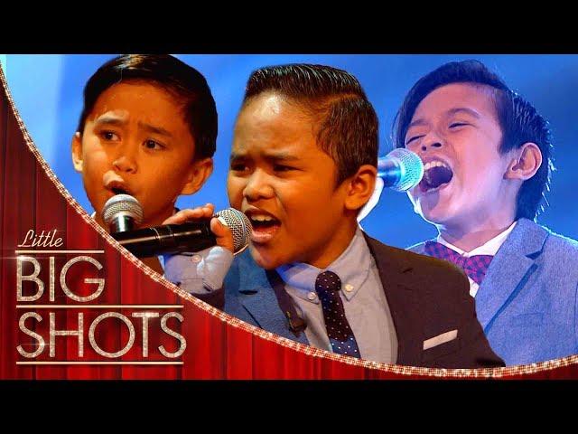 TNT Boys Sing Beyonces Listen  Little Big Shots