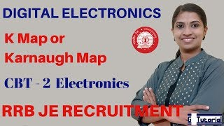 RRB JE Classes in English   K Map or Karnaugh Map - Digital Electronics   SSC CGL   Gate Exam
